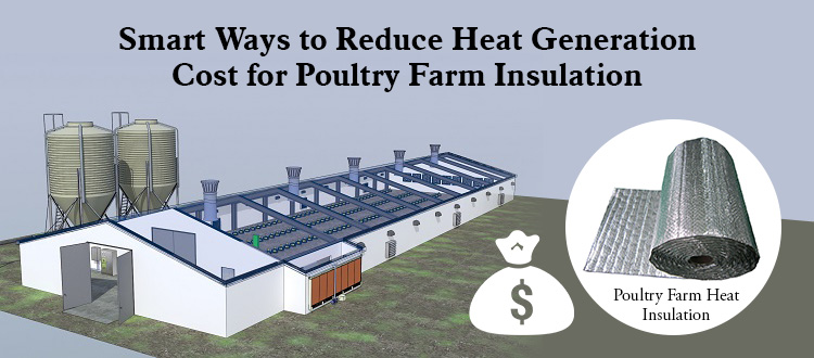 Smart Ways to Reduce Heat Generation Cost for Poultry Farm Insulation