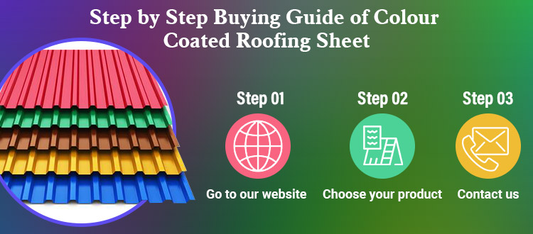 Step by Step Buying Guide of Colour Coated Roofing Sheet
